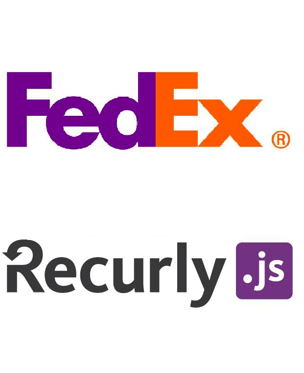 Fedex Recurly Logo